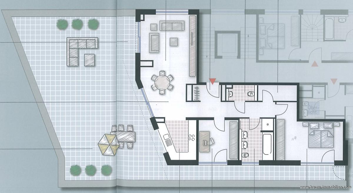 immobilie zum kauf 3 zimmer wohnung offenburg 134 m objekt details. Black Bedroom Furniture Sets. Home Design Ideas